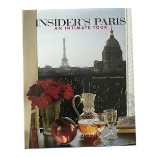 'Insider's Paris' Hardcover Book