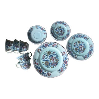 "Adams Calyx Ware ""Saraband"" Mixed Set of Dinnerware"