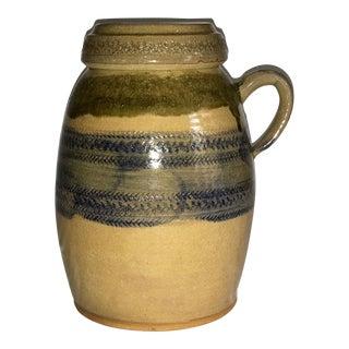 Handmade Stoneware Storage Jar