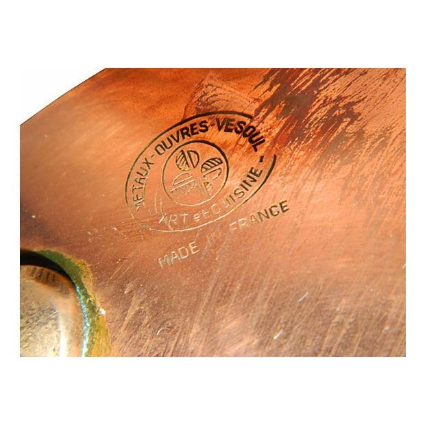 Metaux-Ouvres-Vesoul French Copper Pots - S/4 - Image 3 of 6
