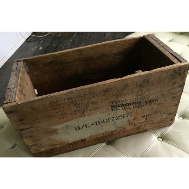 Flight Deck Wooden Box USS Yorktown Navy Ship Boat - Image 2 of 11