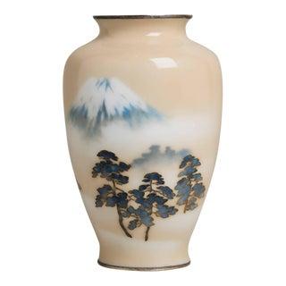 A Japanese Cloisonné Enamel Vase by Ando, circa 1930
