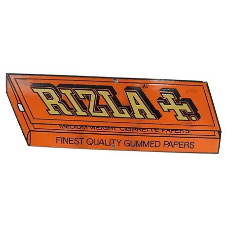 Image of Vintage Rizla Cigarette Papers Store Sign