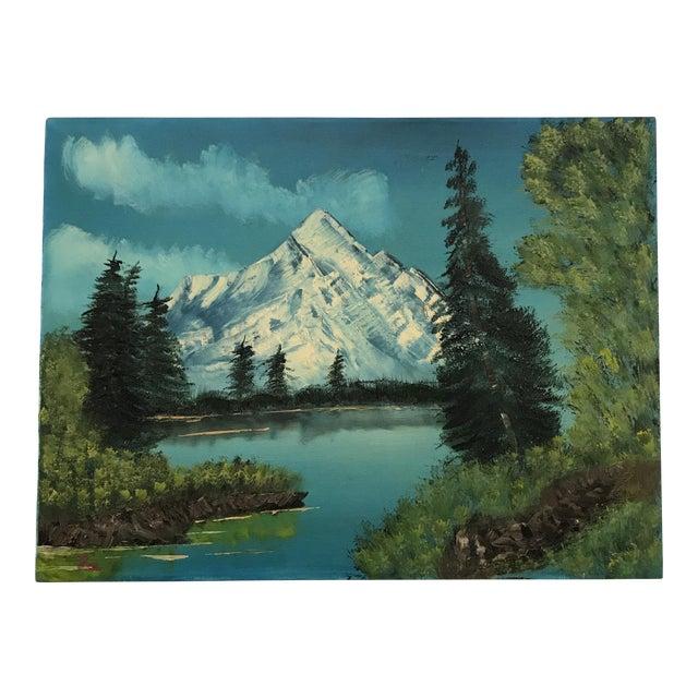 Vintage Original Landscape Painting - Image 1 of 7