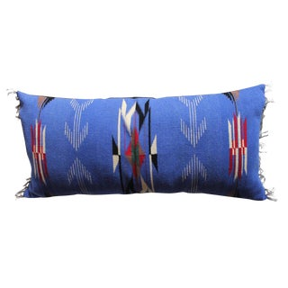 Mexican-American, Chimayo-Indian Weaving Bolster Pillow