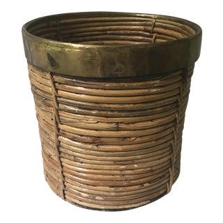 Vintage Boho Chic Basket