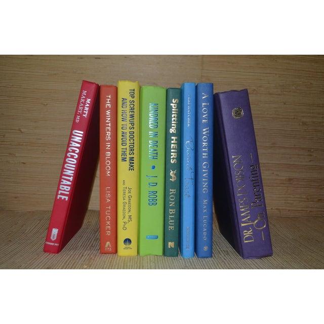 Image of Rainbow Display Books - Set of 8