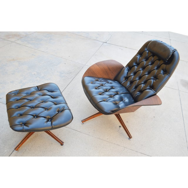 Plycraft Lounge Chair & Ottoman, George Mulhauser - Image 2 of 10
