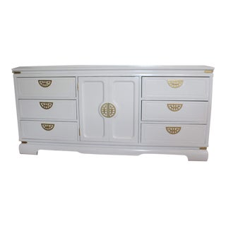Hollywood Regency Lacquer Buffet