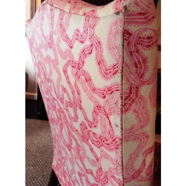 Rose Cummings Ribbon Chintz Upholstered Armchair - Image 5 of 8