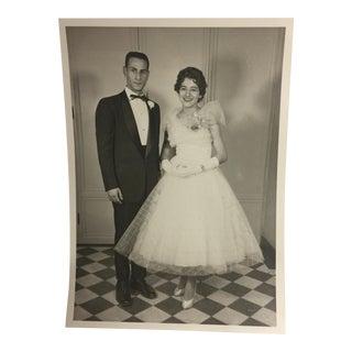 1950s Wedding or Prom Photo