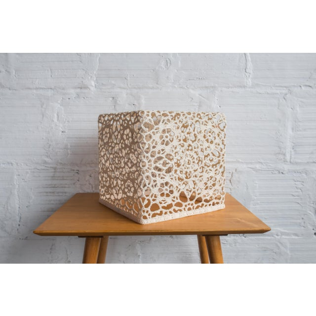 Marcel Wanders Crochet Table Cube - Image 3 of 6