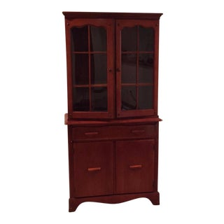 Antique China Cabinet & Hutch