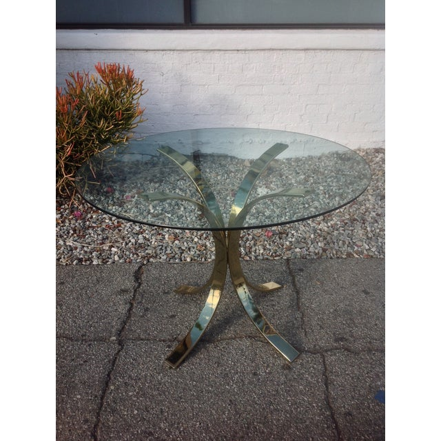 Image of Vintage Dining Table Inspired by Osvaldo Borsani