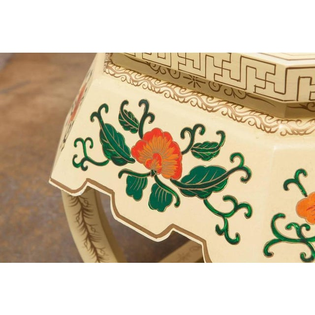 Chinese Lacquered Garden Stool - Image 6 of 10