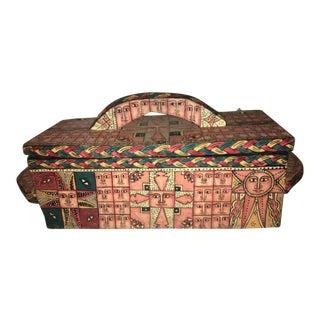 Vintage Axumite Chest of Healing Scrolls