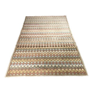 "Bellwether Rugs Vintage Zeki Muren Turkish Diamond Pattern Rug- 5'6"" X 9'3"""