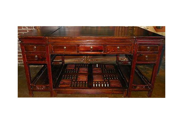 Vintage Amp Used Brown Desks Chairish