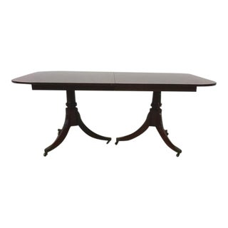 Baker Polished Wood Dining Room Table