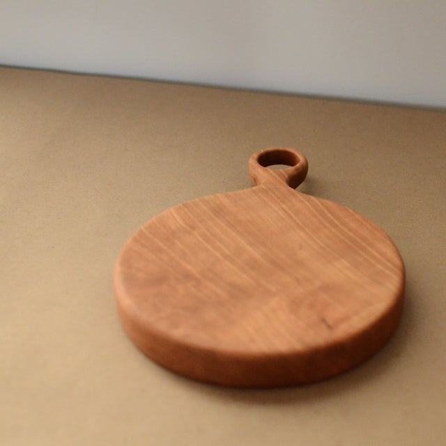 Small Cherry Board with Walnut Bowtie - Image 4 of 8