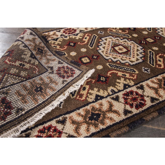 "Apadana - Modern Kazak Rug, 2'2"" x 6'7"" - Image 3 of 7"