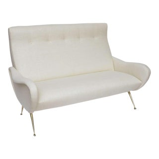 Stripe's Custom Italian-Inspired Settee
