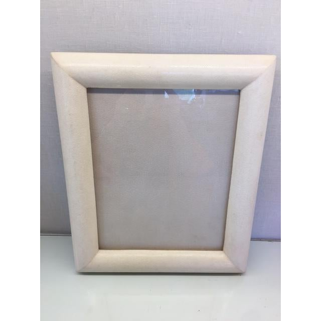 Cream Shagreen Picture Frame - Image 3 of 5