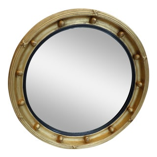 Regency Gilt Bullseye Mirror