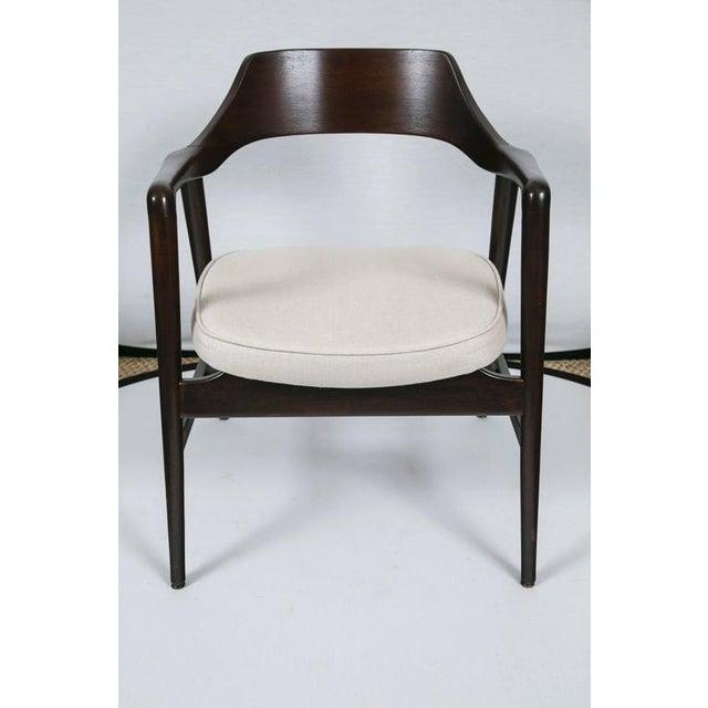 Gunlocke Wood Framed Armchair - Image 4 of 10
