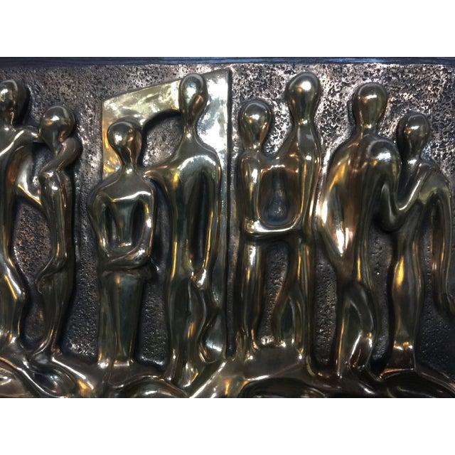 Espada Mid-Century Brutalist Wall Sculpture - Image 6 of 6