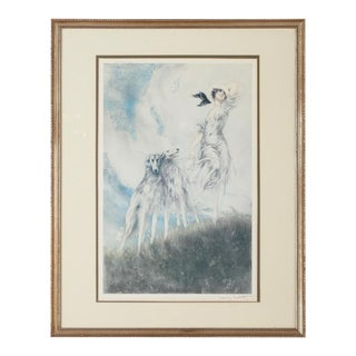 "Louis Icart ""Joy of Life"" Art Nouveau Print"
