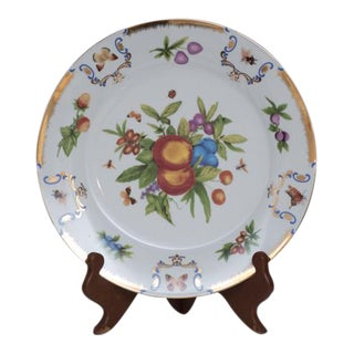 Porcelain Fruit Plate on Stand