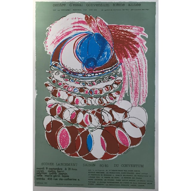 Vintage Conventum Music Poster - Image 4 of 5