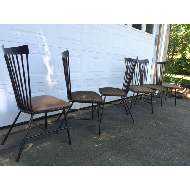 1950's Mid-Century Metal Dining Chairs - 6 - Image 11 of 11