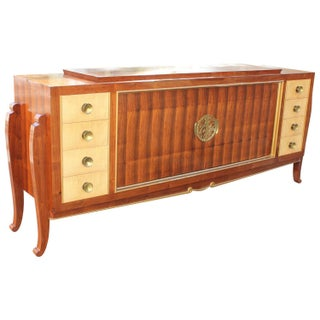French Art Deco Palisander & Bronze Sideboard
