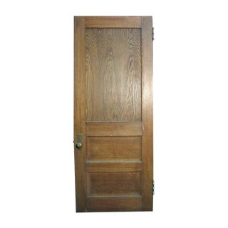 Reclaimed Antique Oak Veneer Door