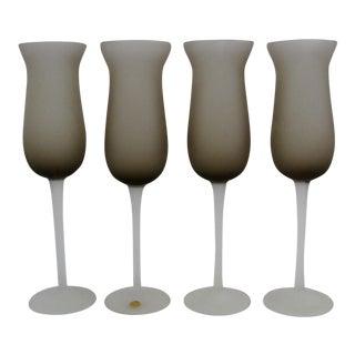 Murano Glass Stemware - Set of 4
