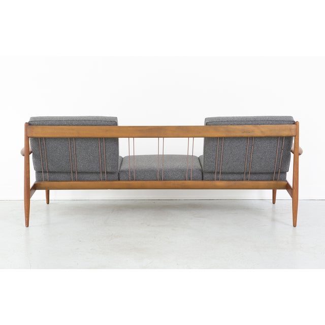 Grete Jalk for France + Daverkosen Teak Wood Sofa - Image 5 of 10