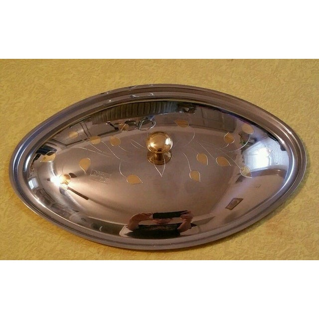 Alpu Puppieni 18/10 Stainless Steel Covered Dish - Image 5 of 7