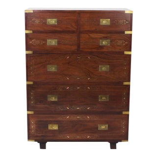 Campaign Style Gentleman's Chest of Drawers