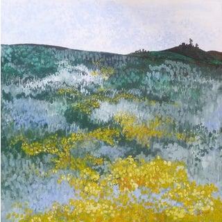 """Mustard Fields"" Painting"
