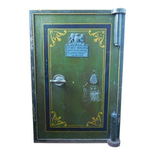 Antique Tann Lock Company Fire Proof Safe with Original Keys