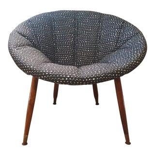 Mid-Century Retro Hoop Chair