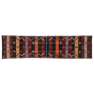 Turkish Tribal Kilim Runner - 3'00 X 11'9