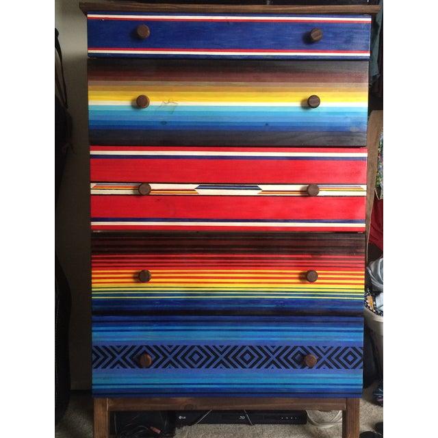 Mexican Blanket Dresser - Image 2 of 4