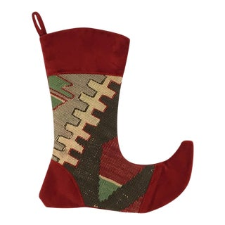 Kilim Christmas Stocking | Joy