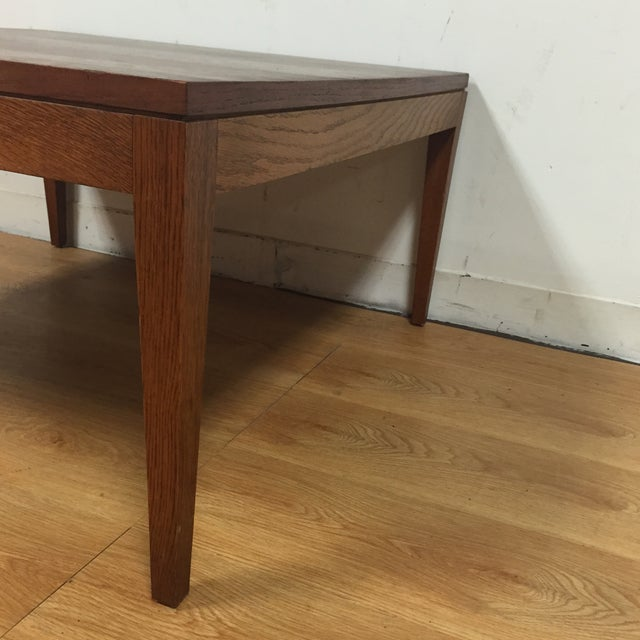 Mid-Century Modern Square Coffee Table - Image 4 of 11