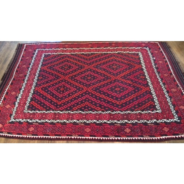 """Hand Woven Morocaan Inspired Rug - 8'6"""" x 11'8"""" - Image 3 of 6"""
