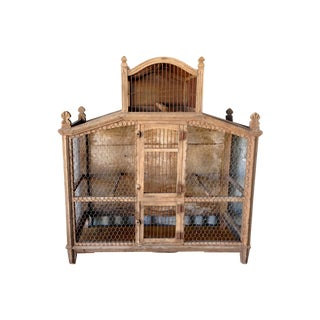Antique French Bird Cage