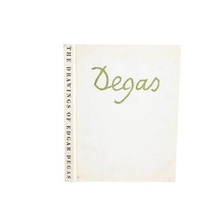 Drawings of Edgar Degas 1969